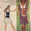Simplicity Pattern 9914 Young Contemporary Fashion - Mini Dress Cardigan size 12 sewing pattern