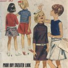 Butterick 4147 Girls' Dress, Blouse and Skirt Sewing Pattern size 12 bust 30""