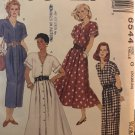 McCall's 6544 Misses' plus size dress with straight or gored skirt Size 20 22 24 Sewing Pattern