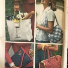 Simplicity 7004 Set of Bags sewing pattern 4 designs cut/complete