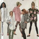 Simplicity 7968 Plus Size Misses' Leggings & Loose Fitting Shirt Size 20-28 Sewing Pattern