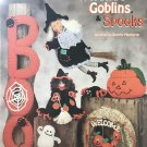 The Needlecraft Shop 981023 Witches Goblins Spooks Halloween Crochet Pattern