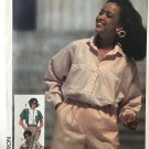 Simplicity 7324 Misses' Shirt in Two Lengths Sewing Pattern Size 10