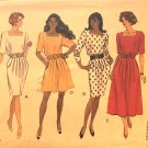 Butterick 5444 Misses' Dress & Culotte Dress sewing pattern UNCUT Size 12 14 16