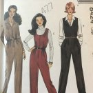McCall's 8424 Misses' jumpsuit with or without sleeves sewing pattern size 16 18