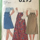 Simplicity 8295 Misses' Skirt in Three Lengths inc. Maxi length sewing pattern size 12