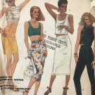 McCall's 2458 Shari Belafonte-Harper - Misses' Top, Skirt & Pants Size 10 Sewing Pattern