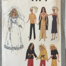 "Simplicity 9194 Doll Clothes sewing pattern for 11 1/2"" fashion doll Vintage 1979 UNCUT"