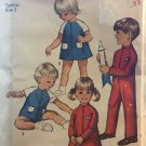 Simplicity 8472 Toddlers' Jumpsuit in Two Lengths and Dress size 2 Sewing Pattern
