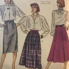 McCall's 2769 Misses' Skirts. sewing pattern size 16 slim or full skirt