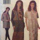 Vogue 9695 Misses Tunic Top Skirt Leggings size 8 10 12 sewing pattern
