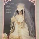 Fibre Craft Annual Bride Crochet Pattern for 15 inch Fashion Doll FCM323