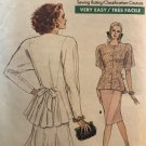 Vogue 7089 Very Easy, Very Vogue Sewing Pattern Misses Top and Skirt Size 12-16