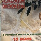 Magic Crochet Pattern Magazine Number 108 June 1997 Doilies Holy Virgin Pattern