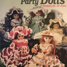 "Crochet Garden Party Dolls pattern for 13"" Dolls American School of Needlework 1172"