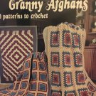 New Granny Afghans 10 patterns to Crochet  1064 American School of Needlework