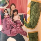 "Simplicity 8668 Novelty Blankets - Mermaid Dinosaur for Child Adult and 18"" doll"