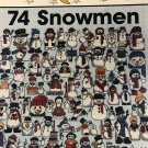 Cross stitch One Nighters 74 Snowmen Jeanette Crews Designs 8112