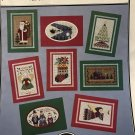 Cross Stitch Pattern Yuletides for Perforated Paper Christmas Cards book 44