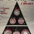 Christmas Ornaments thread crochet pattern Leisure Arts 428 Christmas Covers to Crochet