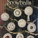 Snowballs Ornaments thread crochet pattern Leisure Arts 903 9 designs