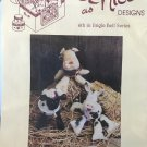 Barnyard Bellies 6th in Jingle Bell Series Twice as Nice Designs No. 163 uncut sewing craft pattern