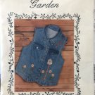 Sunflower Garden embroidery pattern for vest - Needlecraft