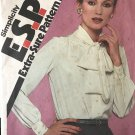 Simplicity Sewing Pattern 9581 Misses' Blouse sizes 8 10 12