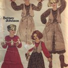Butterick 6180 Betsey Johnson Child's skirt, vest and top  Sewing Pattern Size 7