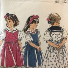 New Look 6575 Girl's Jumper, skirt and blouse with sailor collar Size 3 - 8 sewing pattern