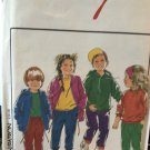 Style 1977 Childrens Hoodie sweatshirts, pants sewing pattern sizes 4-10