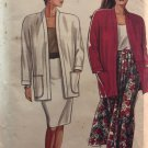 Simplicity 9837 Misses' Pleated Skirt, Slim Skirt and Unlined Jacket Sewing Pattern sizes 10 - 20