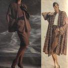 Vogue American Designer 1915 Anne Klein Misses' Jacket, Coat Skirt Top size 8 10 12 sewing pattern