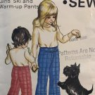 Kwik Sew 392 Girls' Ski and Warm-up Pants sewing pattern sizes 2 4 6