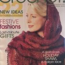 Crochet! Magazine November 2002 Festive Fashions, last minute Christmas gifts