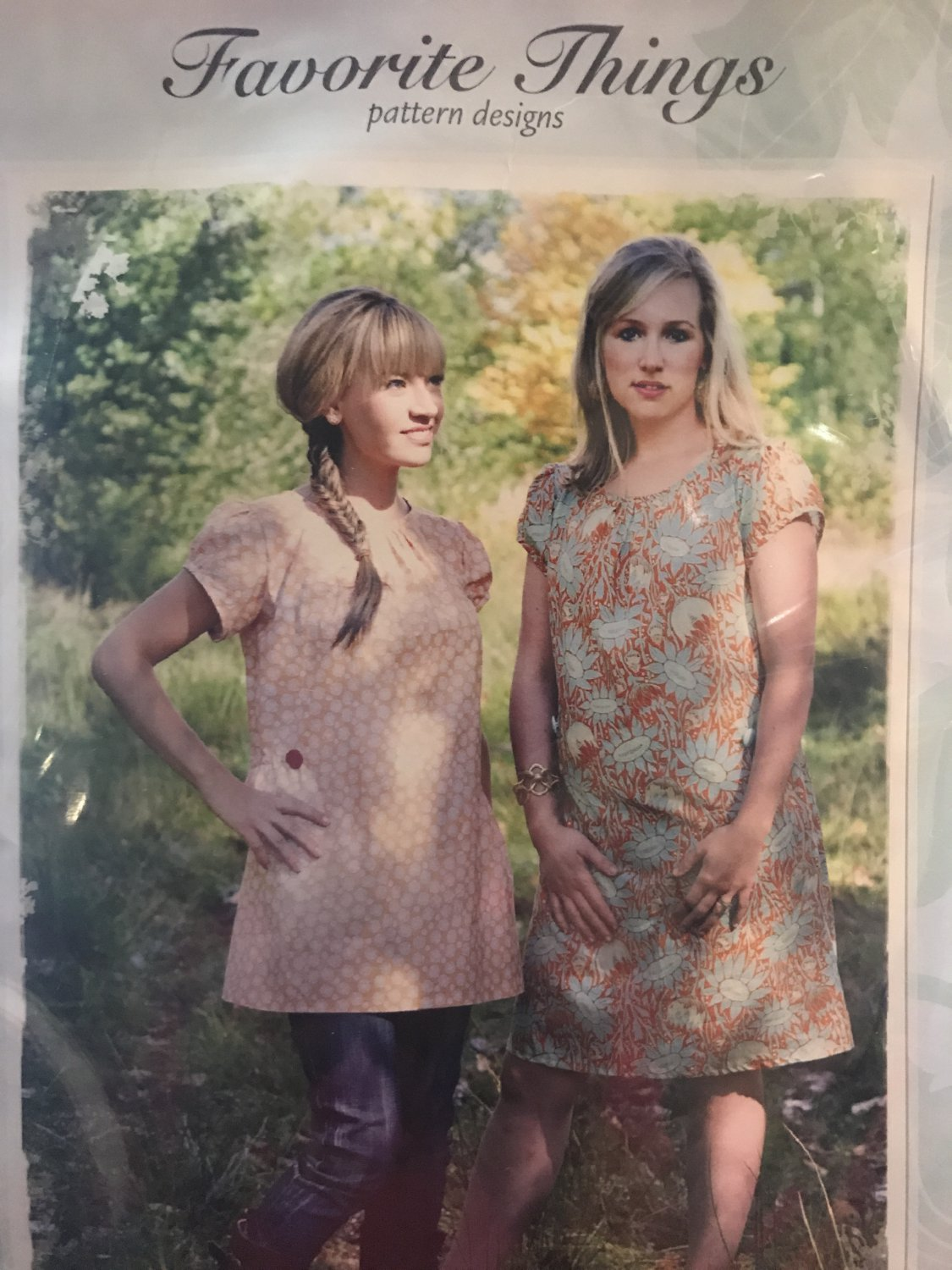 Favorite Things V043 The Shift Dress Pleated Front Sewing Pattern Kimberly Gladman Size 4-22