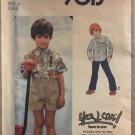 """Simplicity 9013 Child's Shirt Yes I can Learn to Sew Pattern Size 3 chest 22"""""""
