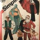 Simplicity Pattern 5742 Costume Pirate Vampire Santa Ballerina Prince Harem Girl size lg 40-42
