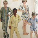 McCall's 2451 Boys Pajamas Size large 14 - 16 Sewing Pattern