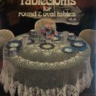 Crocheted Tablecloths for Round & Oval Tables Leisure Arts 214 Five Designs by Gail Divan
