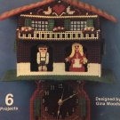 Clocks for the House Plastic Canvas Patterns Kappie Originals book 113