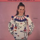 Children's Bright and Lively Sweaters Oversize Designs to Knit for Children 4 -14