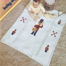 Baby Afghans Columbia Minerva 2588 Crochet patterns including Broomstick Lace