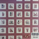 Cross Stitch Pattern Sarah Jane's A B C's  Banar Designs
