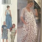 Style 2624 Misses Jumper Overalls Could be used for Maternity Sewing Pattern size 10 - 24 Uncut