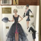 """Simplicity 9664 Roaring 20's Doll Clothes sewing pattern for 11 1/2"""" fashion doll"""