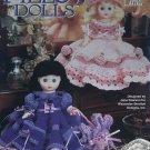 Annie's Attic  Potpourri Pillow Dolls #8709301 by Jane Pearson Crochet Pattern