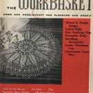 Workbasket Magazine November 1958 Vintage Patterns Doilies