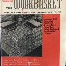 Workbasket Magazine December 1958 Vintage Patterns Tatted Cross bookmark tablecloth
