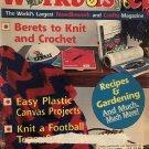 Workbasket Magazine September 1993 Vintage patterns tennis shoe booties, afghan, bear slippers